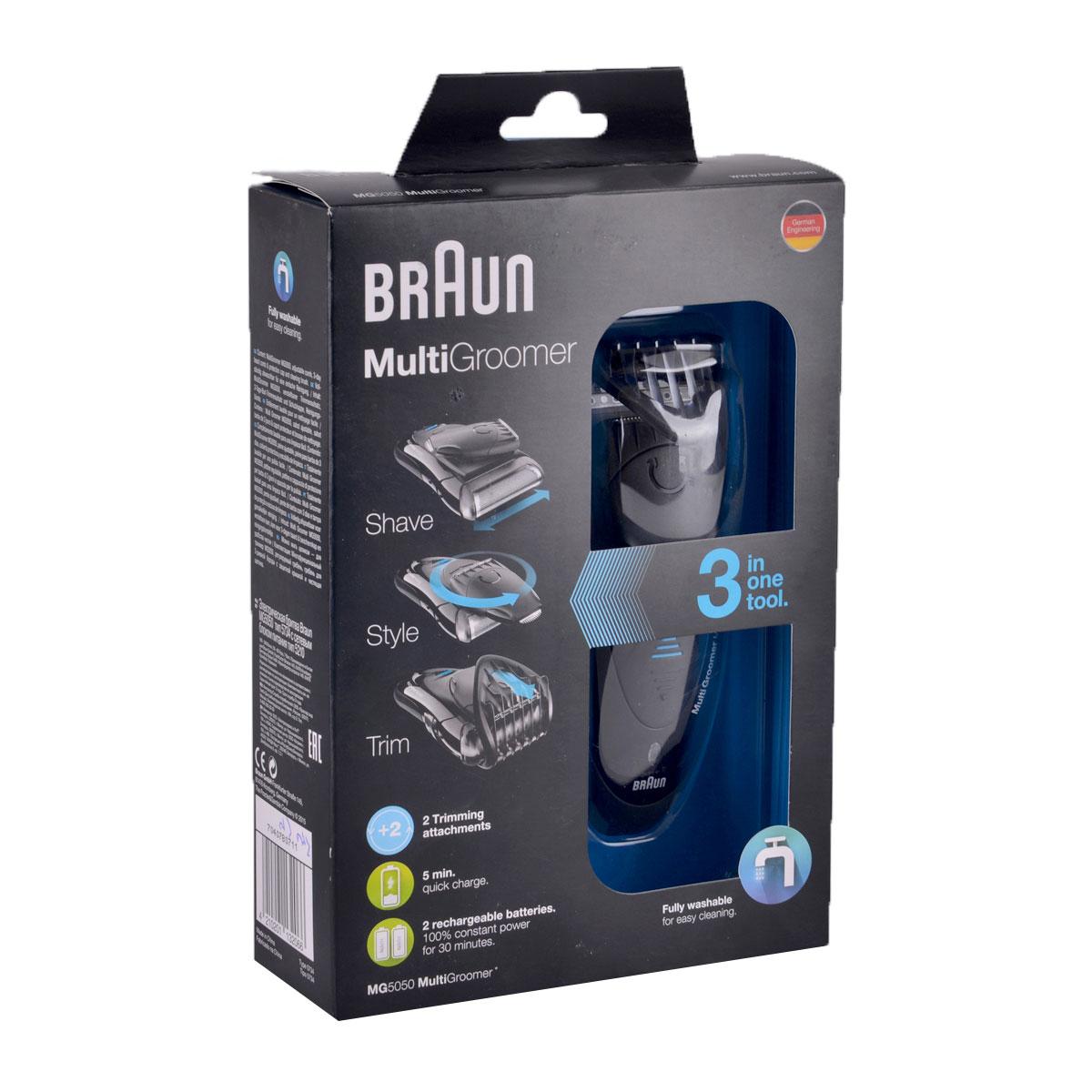 براون – ماكينة حلاقة للرجال3*1  متعددة الإستخدام موديل MG5050