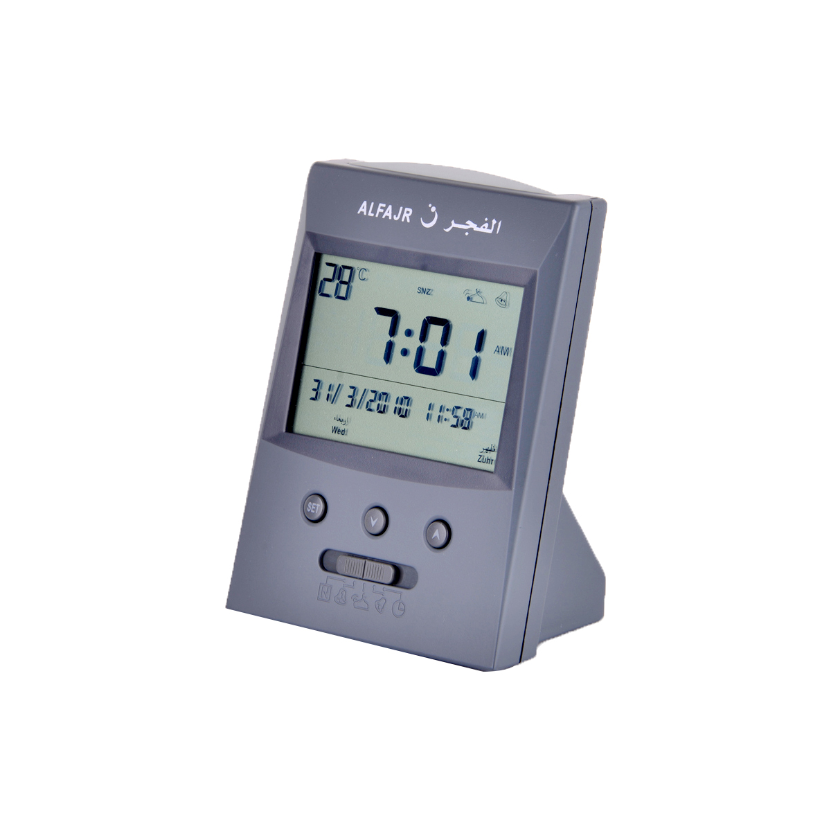 الفجر - ساعة الاذان بصوت رقمي عالي الجودة رقم CS-03
