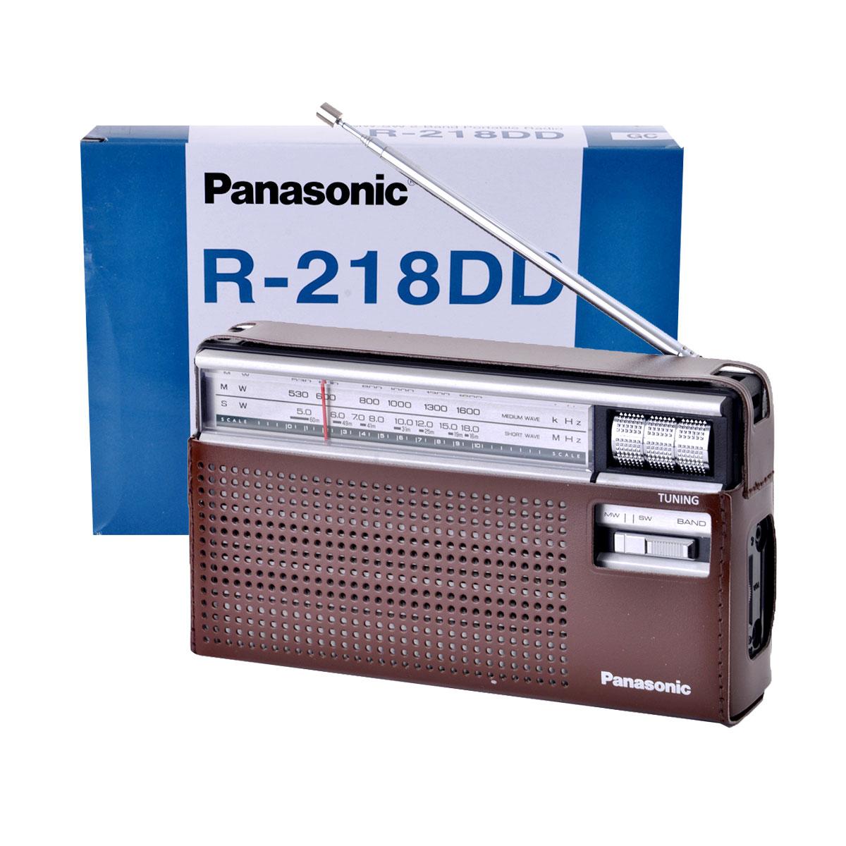 باناسونيك - راديو استقبال ثنائي النطاقات رقم  R-218DD