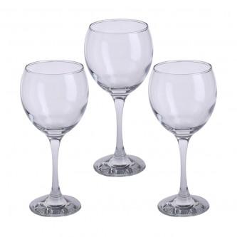 كاسات لاف من الزجاج - طقم 3 حبة - رقم MAY552