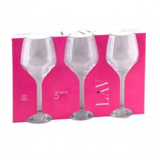 كاسات زجاج من لاف  - تركي طقم  3 حبة  - رقم ELL562