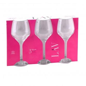 كاسات زجاج من لاف - طقم 3 حبة - رقم ELL562