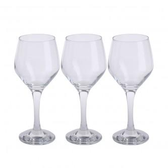 كاسات زجاج من لاف  -  طقم  3 حبة  - رقم ELL542