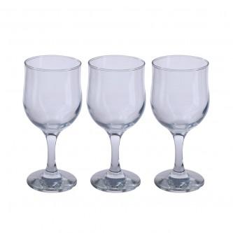 كاسات زجاج -  طقم 3 حبة - رقم NEV570