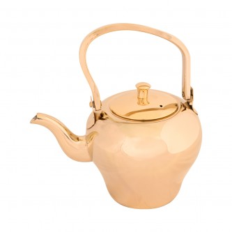 ابريق شاي السيف - استانلس استيل - مقاس 1.2 لتر - لون ذهبي