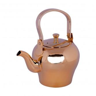 ابريق شاي السيف - استانلس استيل - مقاس 2 لتر - لون ذهبي