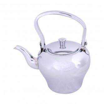 ابريق شاي السيف - استانلس استيل - مقاس 2 لتر - لون فضي
