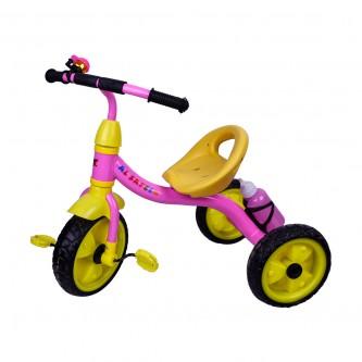 دراجة اطفال ثلاث عجلات - مقعد واحد - رقم TRI220-  الوان متعدده