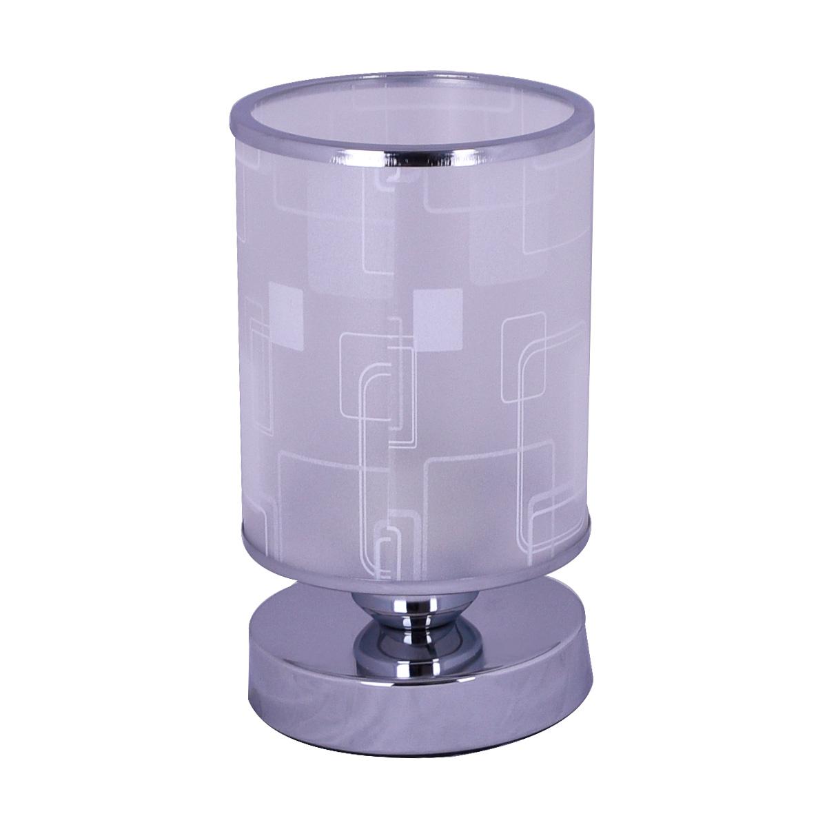 ابجورة طاولة كهرباء استانلس استيل بغطاء زجاج مزخرف - رقم 34524  - لونين