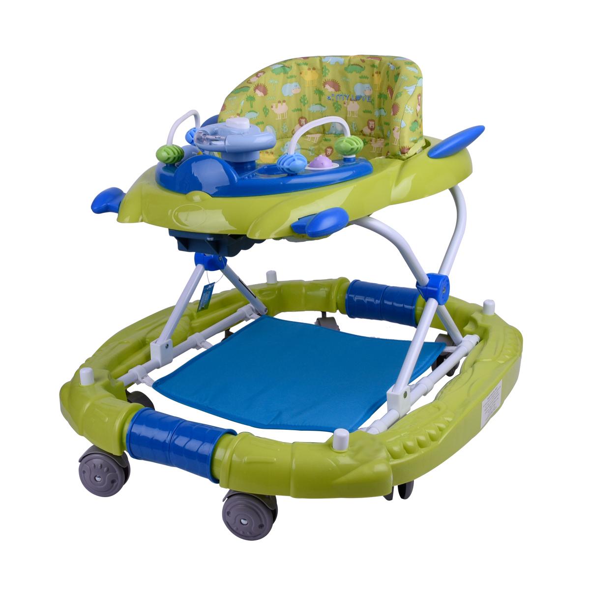 مشاية اطفال ماي لف بعجلات متحركة  - BW02