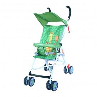 عربة اطفال بيبي بلس قابلة للطي - اخضر - BP7866