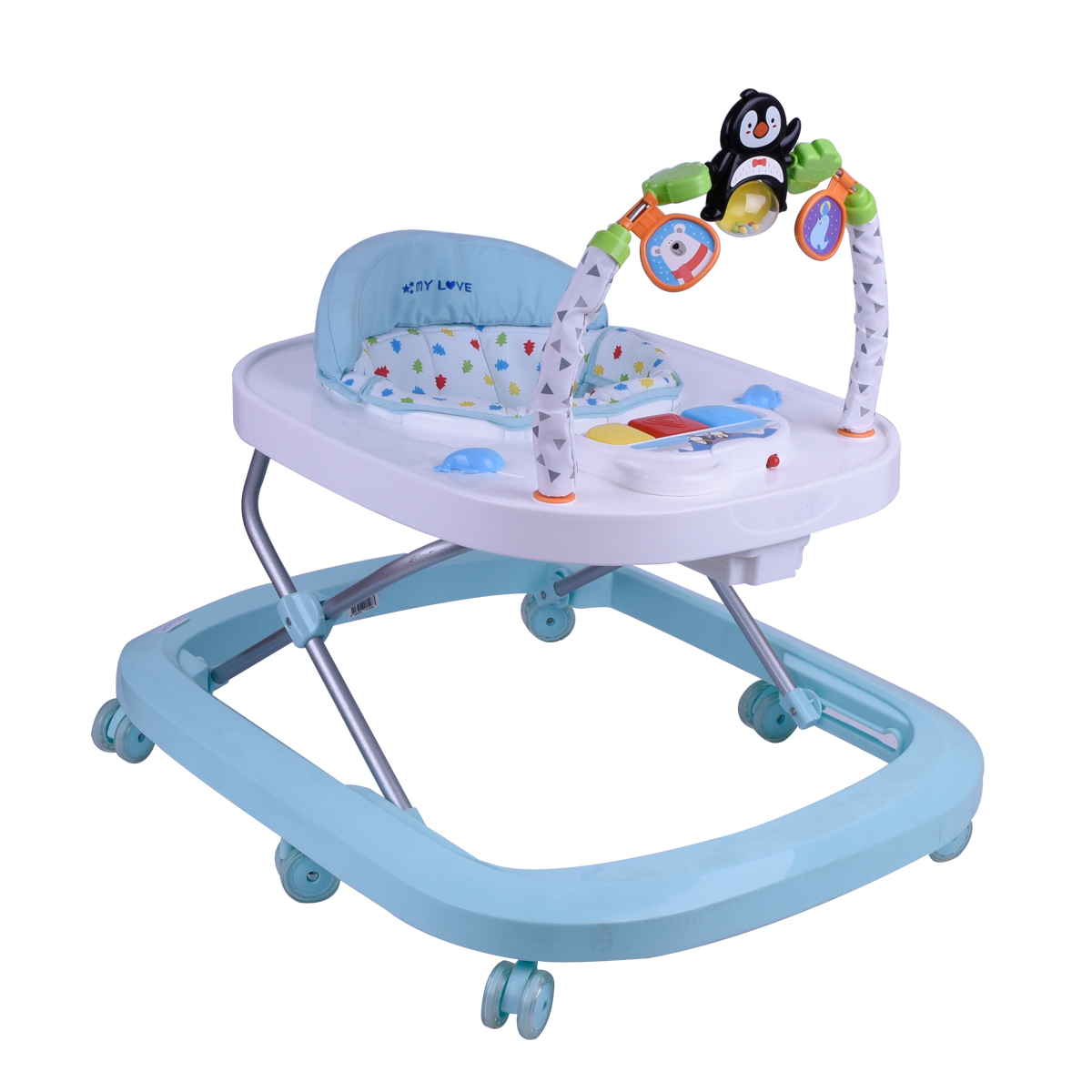 مشاية اطفال بعجلات متحركة  - رقم BW1506