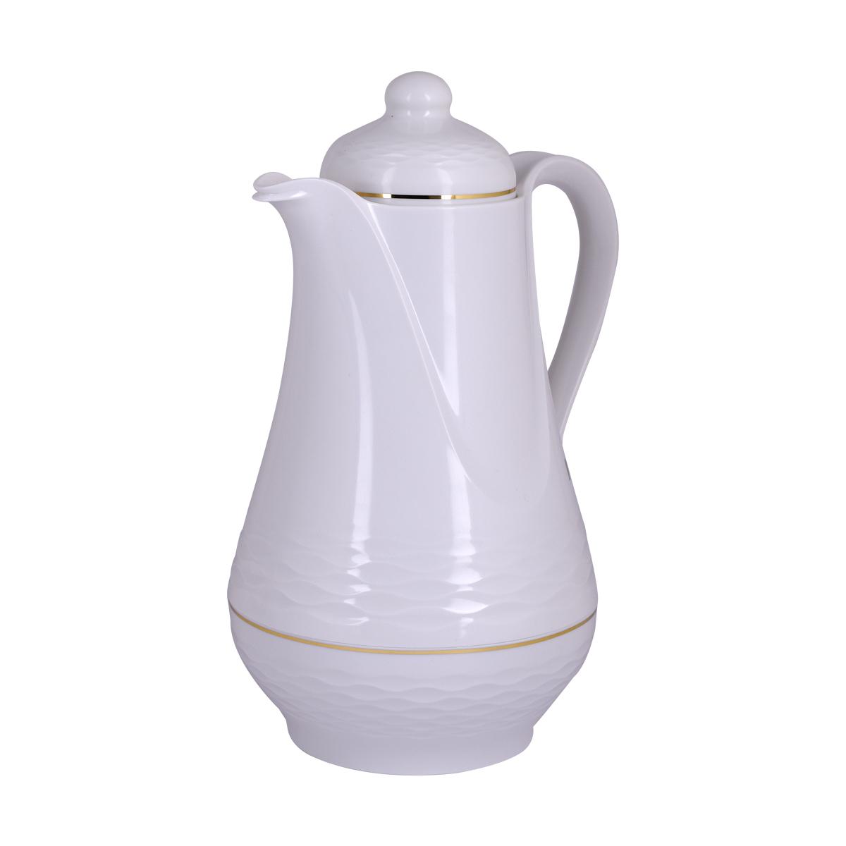 ترمس شاي وقهوة مور تايم - بلاستيك - 1.5لتر رقم MY-30034 - لون بيج