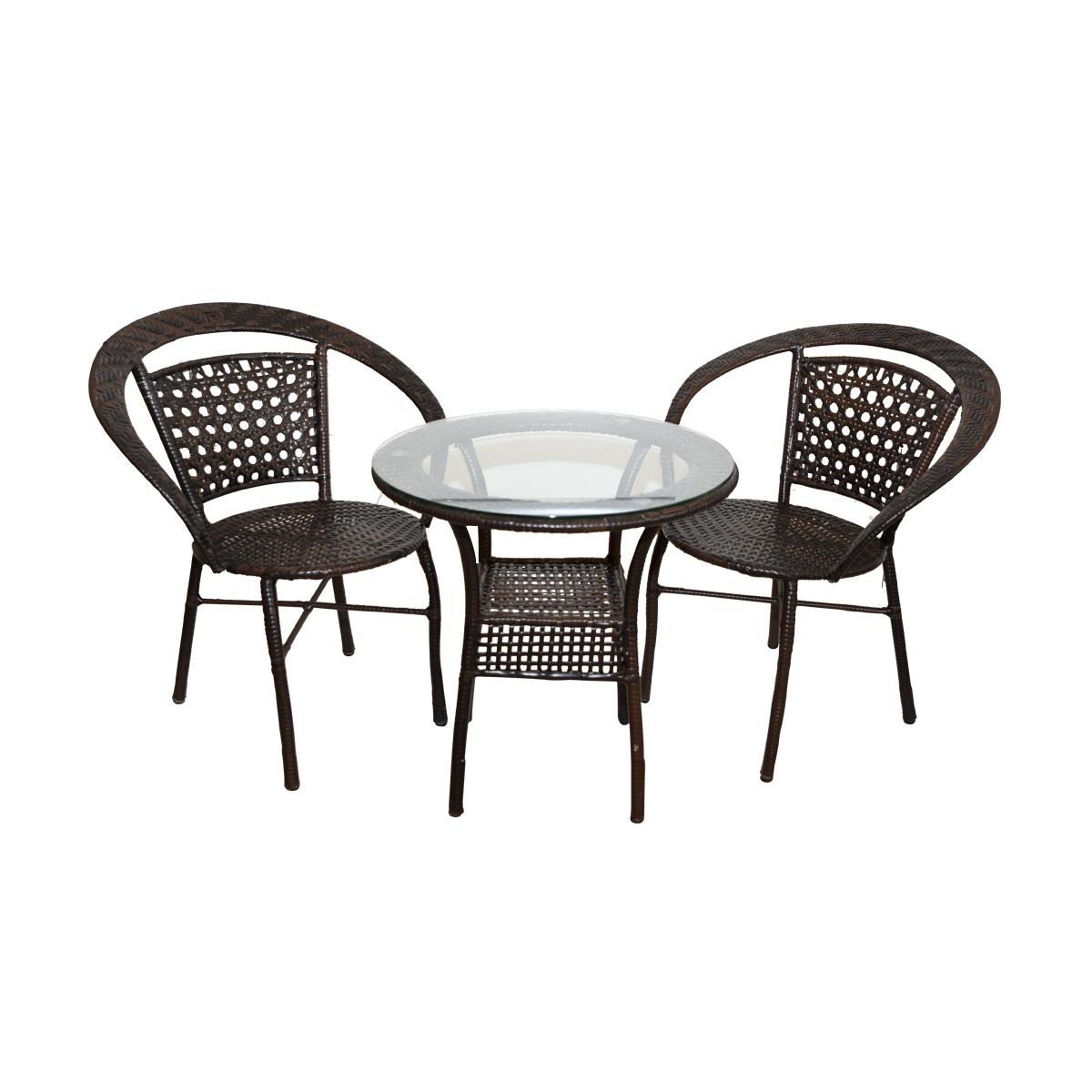 طاولة حديقة مع 2 كرسي رقم 4000039