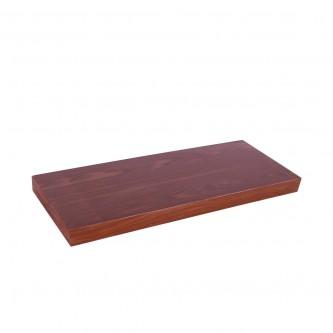 رف خشب جداري   -  60 * 23.5 سم لون بني - YM-11997 - من ماي مارت
