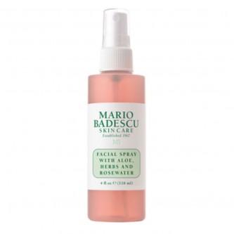 ماريو باديسكو - رذاذ الوجه مع عشبة الألوي وماء الورد ، 118 مل