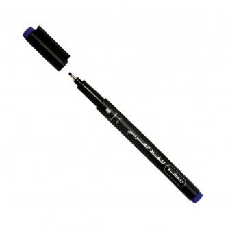 قلم خط عربي روكو ياباني مشطوف  - 2.0 مم - لون ازرق