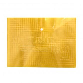 ملف بلاستيكي طقطق لحفظ الاوراق شفاف الوان متعددة - رقم 20473