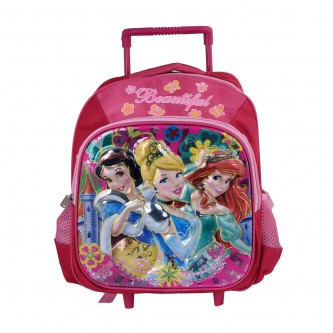 حقيبة ظهر شخصيات مدرسية بعجلات لاطفال الروضة - رقم 20604