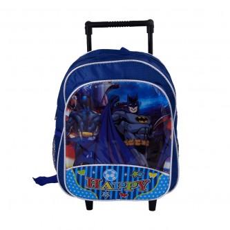 حقيبة ظهر شخصيات مدرسية بعجلات لاطفال الروضة - رقم 20599