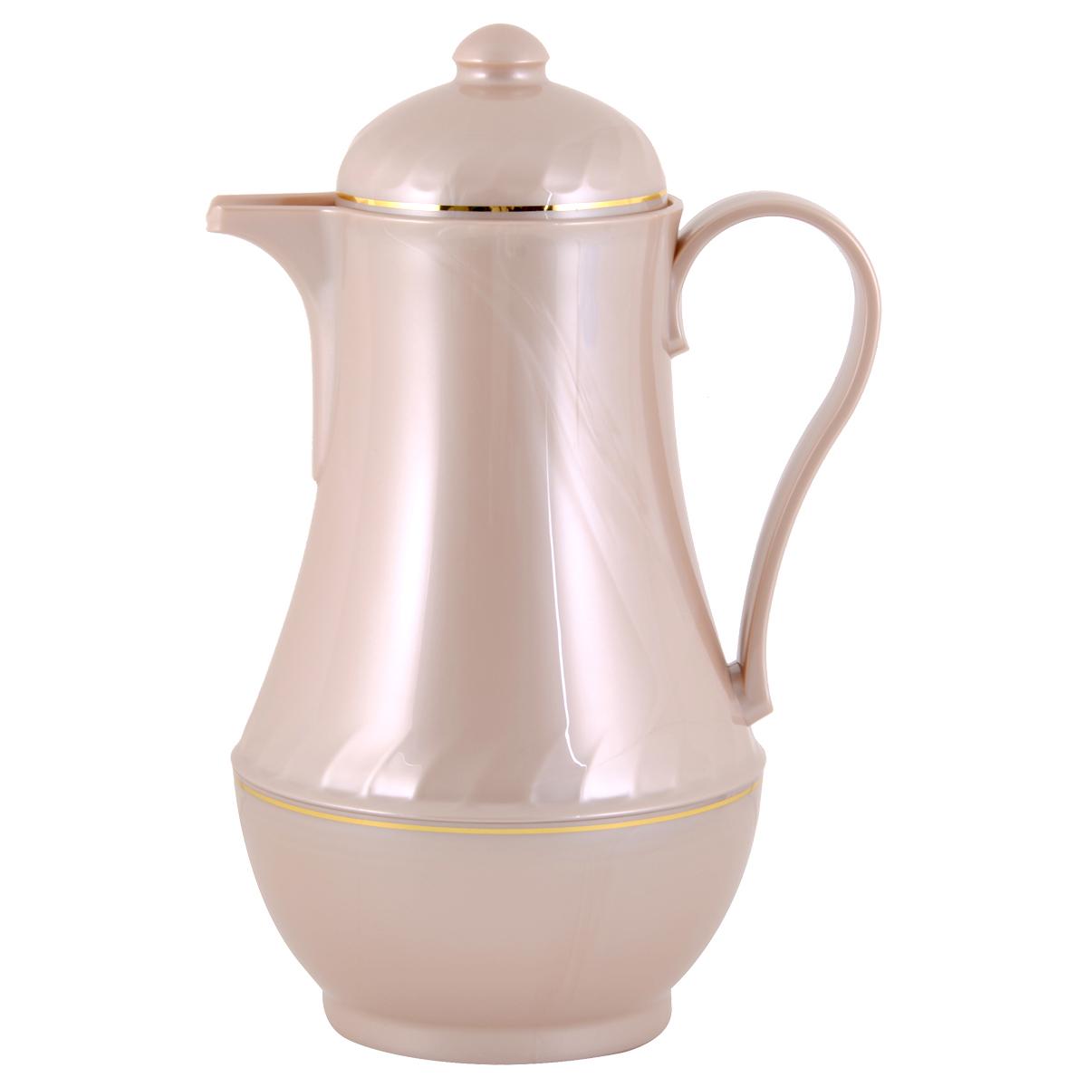 مور تايم , ترمس شاي وقهوة بلاستيك, 1.5  لتر,متعدد الالوان ,YM-16128