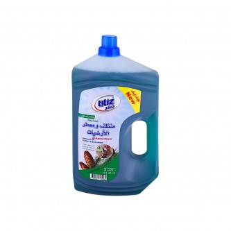 مطهر  ارضيات سائل تيتيز  رائحة الصنوبر - 3000 مل