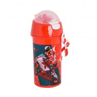 قارورة ماء مدرسية بلاستيكية لاطفال الروضه - سبيد موتور سيكل -4927-147