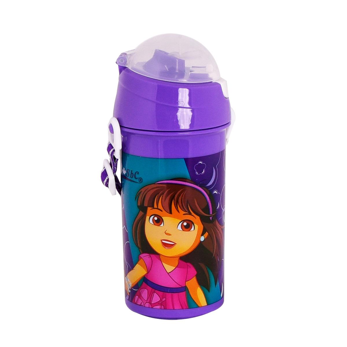 قارورة ماء مدرسية بلاستيكية لاطفال الروضه -سويت جيرل