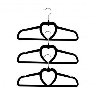 علاقة ملابس  قطيفة 3 قطع  رقم 7-98