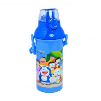 قارورة ماء مدرسية بلاستيكية شخصيات متعددة للاطفال 450 مل