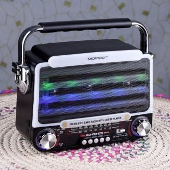 راديو ذكي محمول ميكروديجيت   -  MRS007T