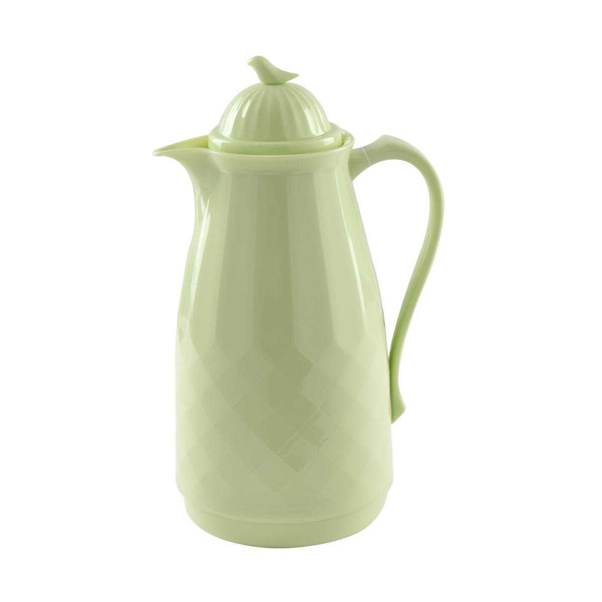 ترمس شاي وقهوة العصفور - 1 لتر - لون اخضر فاتح -  موديل 0400178