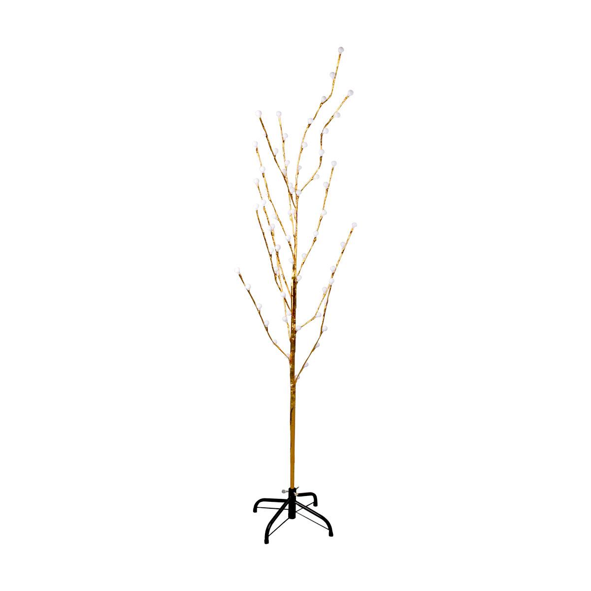 شجرة الزينة المضيئة الكهربائية - اضاءة صفراء - 220 فولت - رقم MM-495