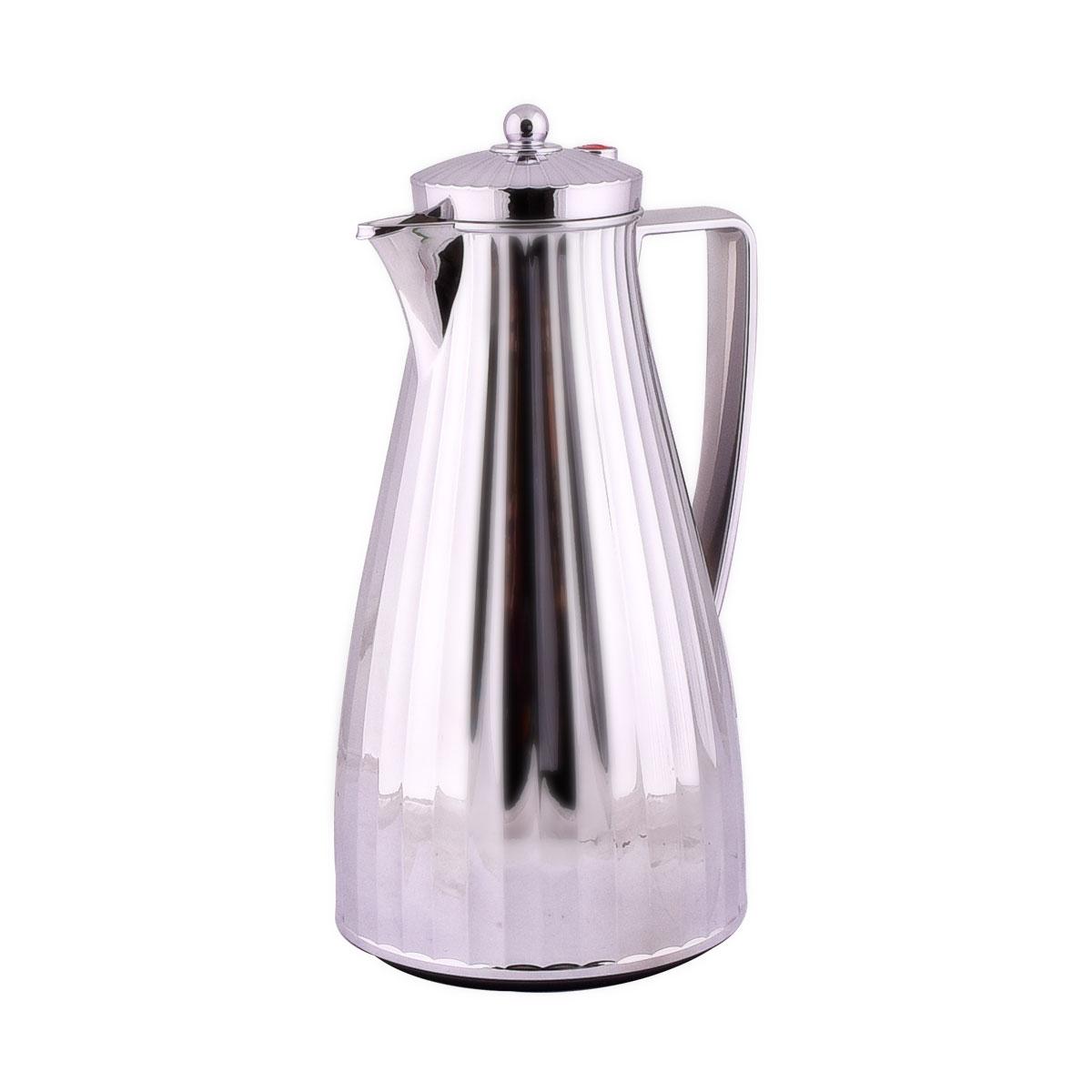 ترمس شاي وقهوة فلورا السيف لون فضي - 1.2 لتر