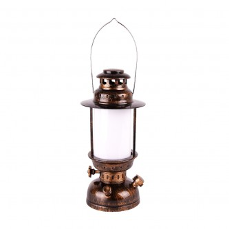 مصباح شكل فانوس يعمل بالبطاريات - ضوء اصفر AR 3047