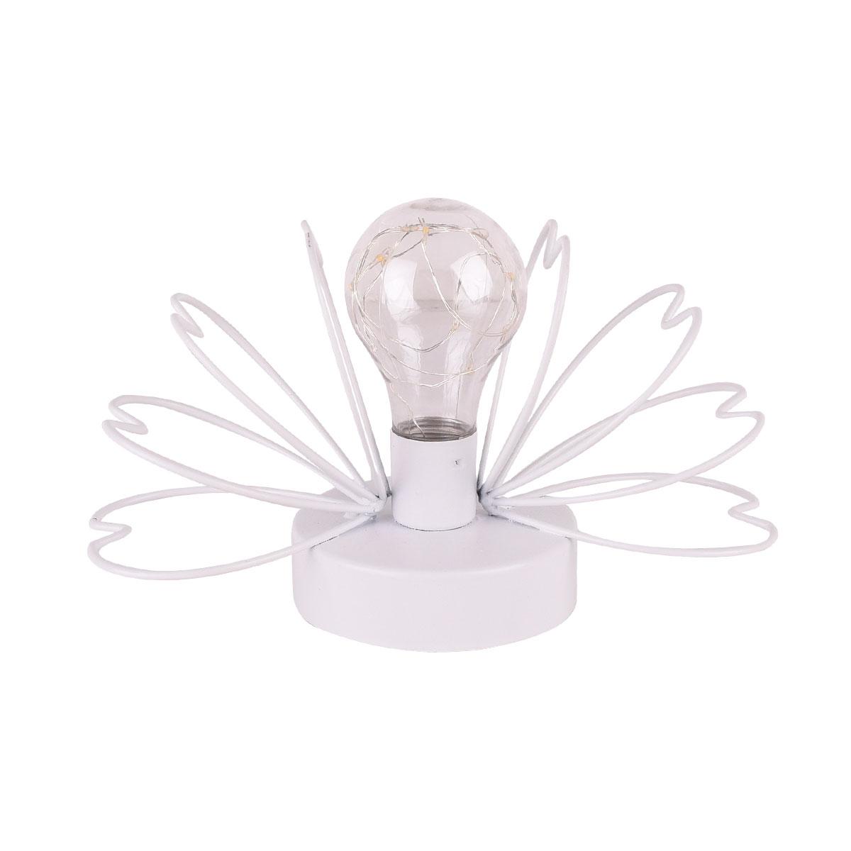 مصباح مضيئ يعمل بالبطاريات - ضوء اصفر MM-409