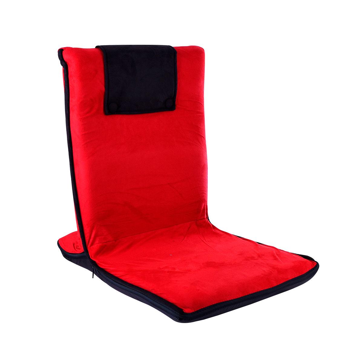 كرسي رحلات ارضي قابل للطي بمستوى جلوس واحد -  متعدد الالوان - 17002