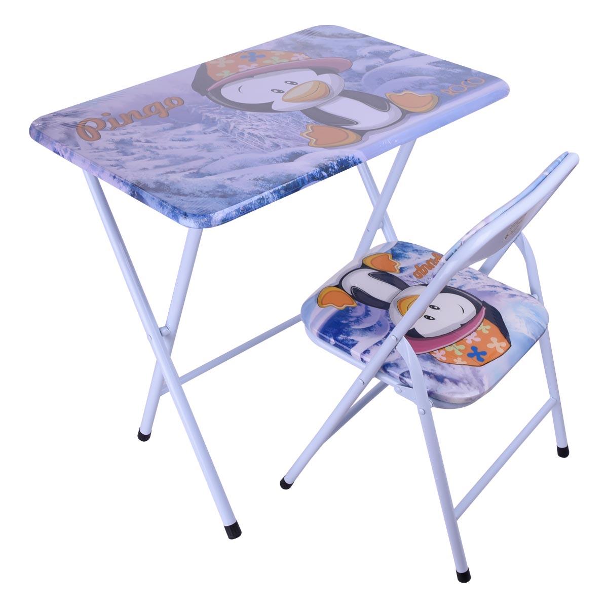 طاولة اطفال مدرسية خشب بقواعد من الحديد , موديل 24098