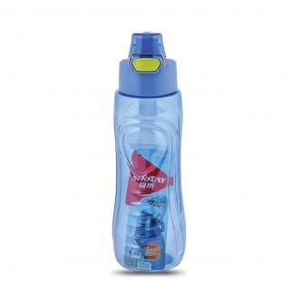 قارورة ماء مدرسية بلاستيكية - 780 ملي - الوان متعددة - 13521