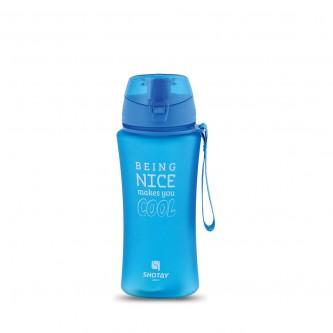 قارورة ماء مدرسية بلاستيكية - 480 ملي - الوان متعددة - 13518
