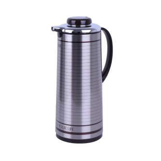 ترمس شاي وقهوه تايجر اليابانية - استانلس استيل - 1.9 لتر PXJ-190 S