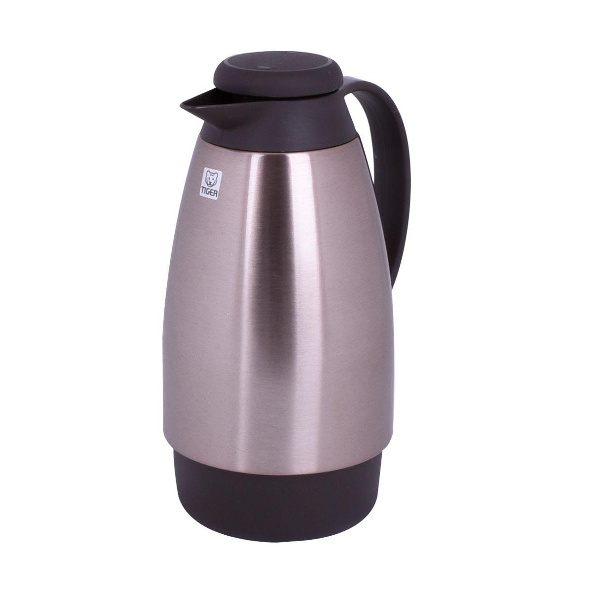 ترمس شاي وقهوه تايجر اليابانية - استانلس استيل - 1 لتر - PXE1000