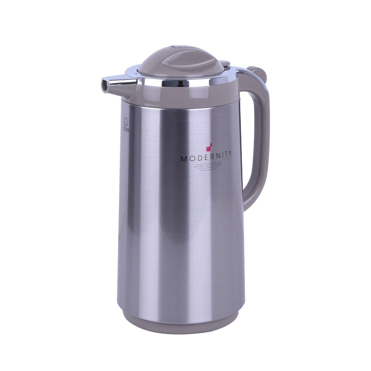 ترمس شاي وقهوه تايجر اليابانية - استانلس استيل -1.59 لتر - PRT-S160