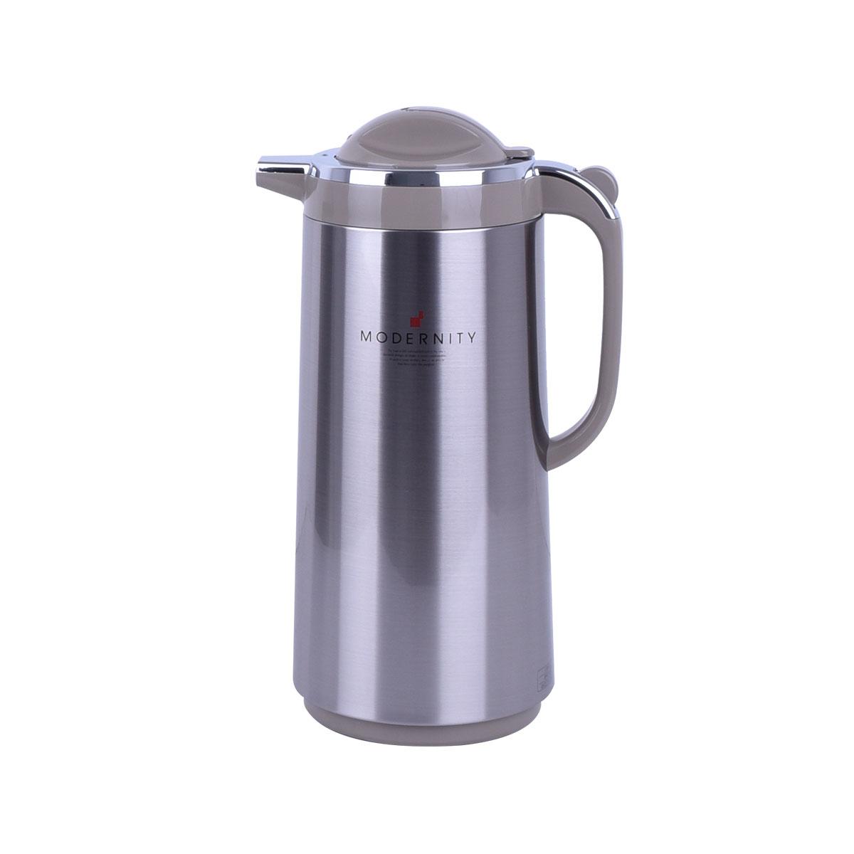ترمس شاي وقهوه تايجر اليابانية - استانلس استيل -1.88 لتر - PRT-S190