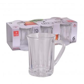 بيالات شاي زجاج كابيتول - طقم 6 حبة - رقم 20354