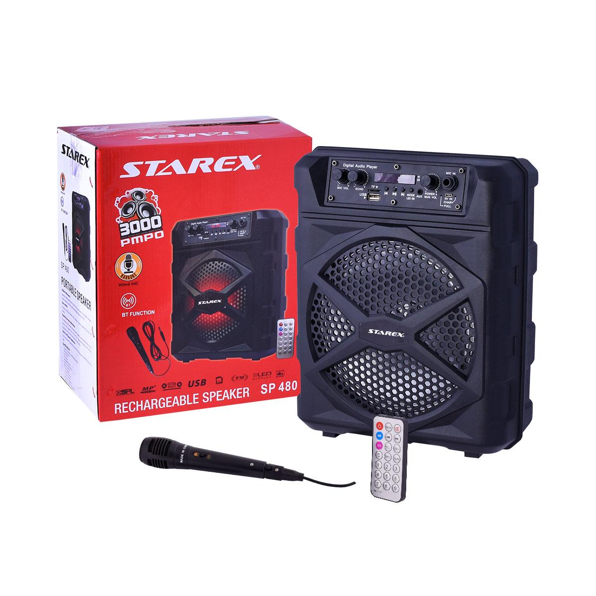 سماعة مكبر صوت بلوتوث STAREX ,  رقم SP480