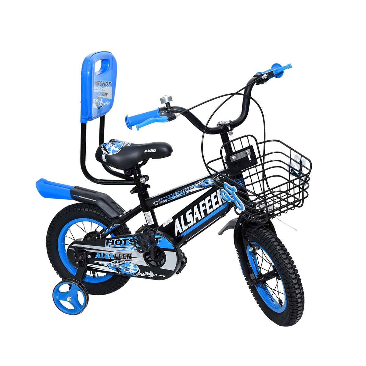 دراجة هوائية للأطفال - مقاس 14 إنش - الوان متعددة , 14HRX