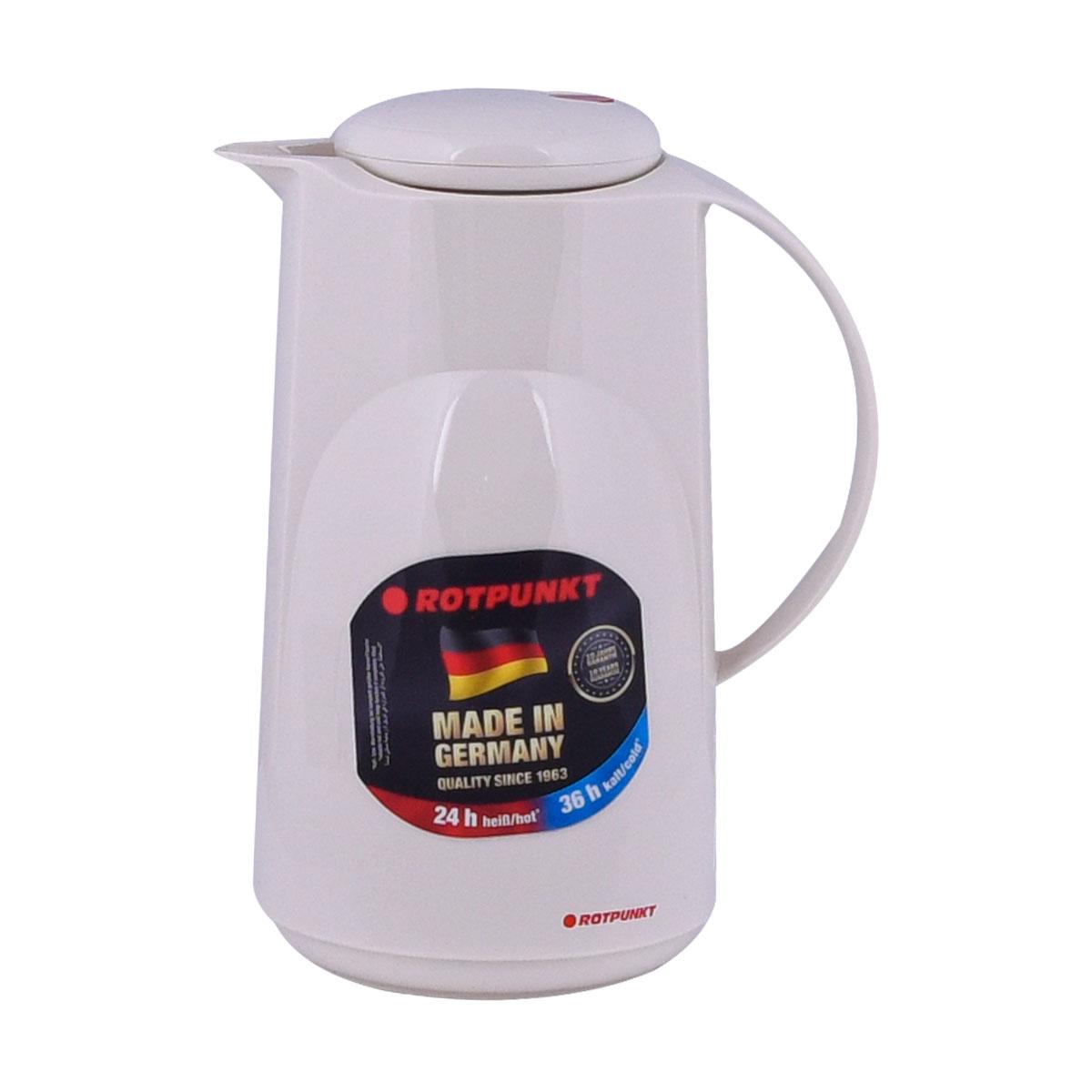 ترمس شاي وقهوة بلاستيك روتبونت الماني , 1 لتر