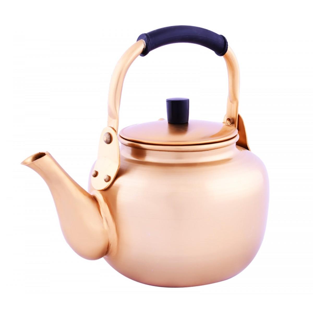 ابريق شاي معدن كوري,مقاس 3 لتر