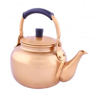 ابريق شاي معدن ,كوري,مقاس 1 لتر